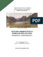 Informe Hidrología Pelagatos Dic2007