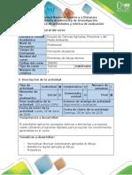 Guía de Actividades y Rúbrica de Evaluación - Fase 6 - Diseño de Planos Aplicados a La Ingeniería