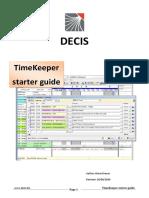 Timekeeper Starting Guide