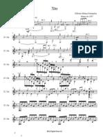 Xto Partitura PDF