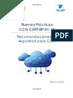 CCN CERT BP 01 18 Recomendaciones CDN