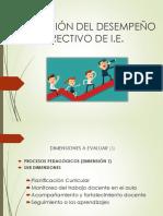 Evaluación Del Desempeño Directivo