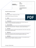Standard Operating Procedure Template - Single Page.doc