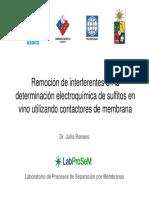 Proyecto Anillo Julio Romero