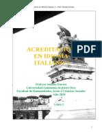 Acreditación en Idioma Italiano 1 - Unità 1 (2018) (1)