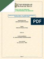 Derecho Procesal Penal con Relación Al Derecho Penal