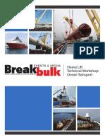 Bbme2015 Heavy Lift Workshop Ocean
