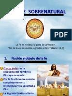La Fe Sobrenatural