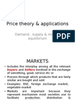 Topic 22.0 and 2.1 Price Theory and Applications 09-10