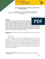 Conflitos Socioambientais Na Ilha de Santa Catarina, Brasil Gentrificação e Apropriação Da Natureza Na Gestão Do Território