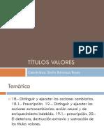 Titulos Valores-comercial II