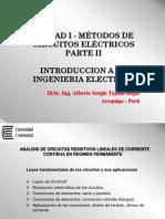 Unidad I - Diapo 04 - Métodos de Circuitos Eléctricos