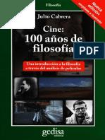 Cine 100 Años de Filosofia