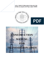 40586870 Construction Manual for Transmission Lines