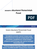 Sistem Akuntansi Pemerintah Pusat