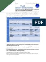 Taller Clima Organizacional - Estructura