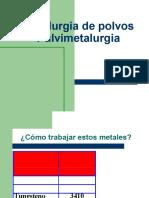 Metalurgia de Polvos
