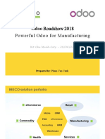Powerful Odoo for Manufacturing