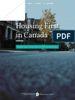 Housing First in Canada