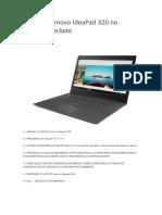 Solución Lenovo IdeaPad 320 No Funciona Teclado
