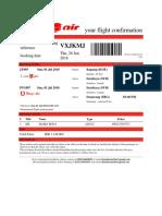 Lion Air Ticket