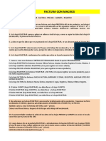 Factura Macros - Clase