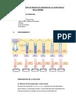 Analisis Microbiologico de La Leche Fresca