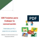 100 tarjetas pára trabajar la conversación.pdf