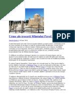 Urme ale trecerii Sfântului Pavel prin Pafos.docx