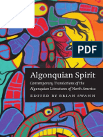 (Native Literatures of the Americas) Brian Swann-Algonquian Spirit_ Contemporary Translations of the Algonquian Literatures of North America-University of Nebraska Press (2005)