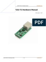 USR TCP232 T2 Hardware Manual V1.2.345