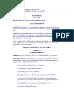 Sanitation Code of the PH