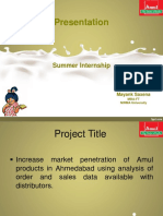 Amul PPT - Edied