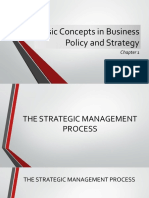 Basic Concepts in Business Policy and Strategy (1)