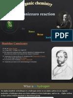 organic chemsitry - canizzaro reaction