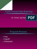 Aspek Geriatri Pada Radiologi