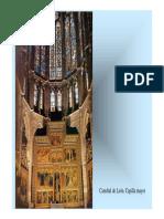 Vidrieras. Catedral de Leon
