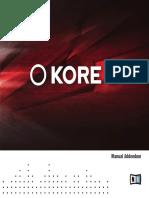 KORE 2 Manual Addendum English