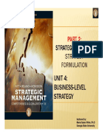 Lecture 5 - Business Level Stratey Read-Only