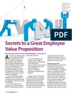 2011-07 Secrets to a Great Employee Value Proposition