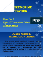 Midterm Organized Crime