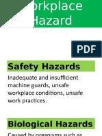 Types of Workplace Hazard