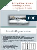 Geotextile Pentru Canale