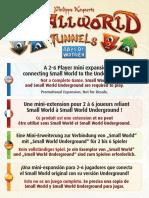 Smallworld Tunnels Rules