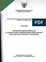 Peraturan-Menteri-Pertahanan-Nomor-39-Tahun-2014-tentang-Penanggulangan-Bencana-di-Rumah-Sakit-Kementerian-Pertahanan-dan-Tentara-Nasional-Indonesia.pdf