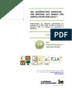 Rapport Du Seminaire Cooperatives