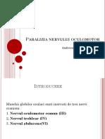 Paralizia Nervului Oculomotor
