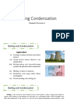 Boilng and Condensation