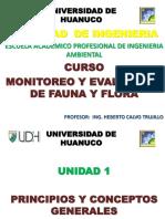 Diapositiva Monitoreo Fauna y Flora