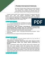 Sumber Hukum Perdata Internasional Indonesia